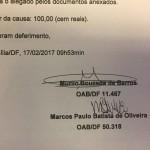 2.4 - Ação de Divórcio - TJDFT - Processo nº 2017.01.1.013824-8 - 02.03.17