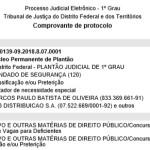 3.1 – Mandado de Segurança – TJDFT – Processo nº 0700139-09.2018.8.07.0001 – 05.01.18