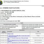 2.9 - Ação de Indenização – TJDFT – Processo nº 0740658-15.2017.8.07.0016