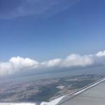 Voltando para Brasília. Vista aérea de Belém - PA.